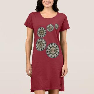 Spring blossoms 4.D.5.4, Flower-Mandala Dress