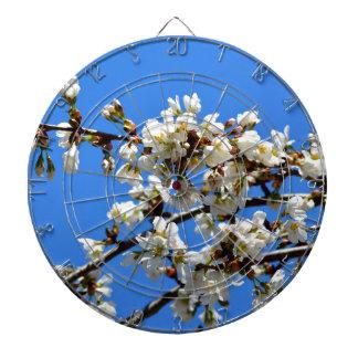 spring blossoms dartboard
