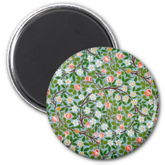 Spring Blossoms 2 Inch Round Magnet