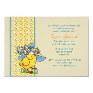 Spring Bonnet Invitation