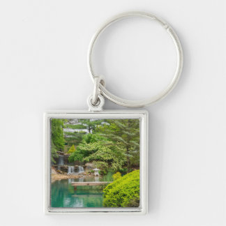 Spring Botanical Beauty Keychain