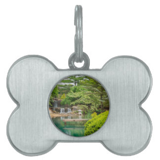 Spring Botanical Beauty Pet Tag