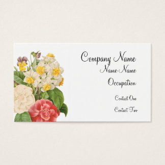 Spring Bouquet Business Cards