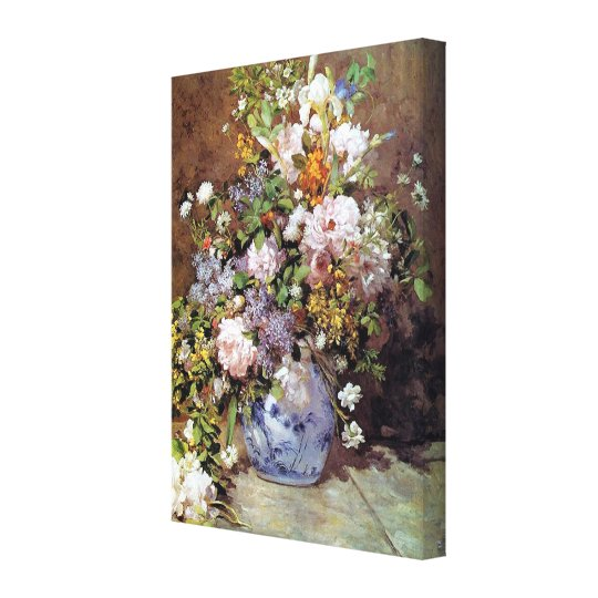Spring Bouquet by Renoir Canvas Print