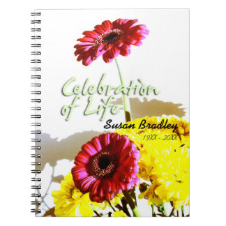 Spring Bouquet Celebration of Life Guest Book