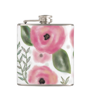 Spring Bouquet Flask