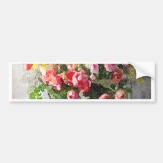Spring Bouquet Floral Study Bumper Sticker