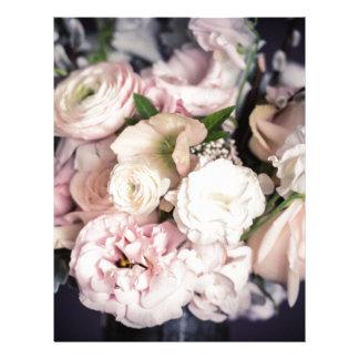 Spring Bouquet in Pastel Letterhead