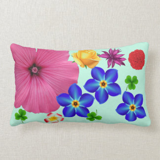 Spring Bouquet Lumbar Pillow