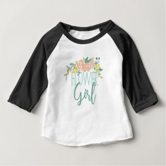 Spring Bouquet Watercolor | Flower Girl Top