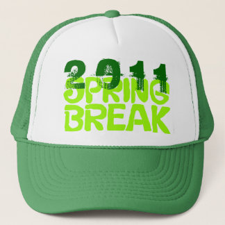 Spring Break 2011 Hat 5 Green