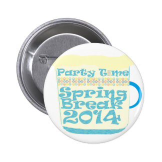Spring Break 2014 2 Inch Round Button