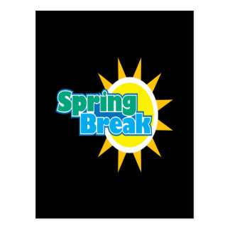 Spring Break 4 Postcard