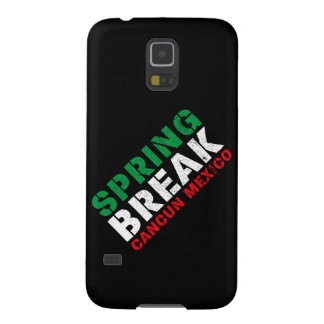 Spring Break Cancun Mexico Cases For Galaxy S5