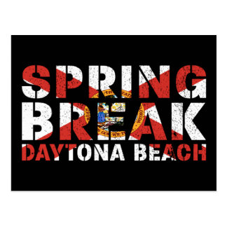 Spring Break Daytona Beach Florida Postcard