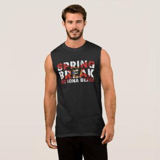 Spring Break Daytona Beach Florida Sleeveless Shirt