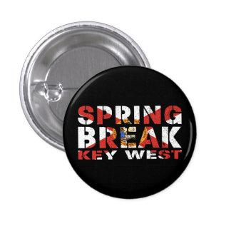 Spring Break Key West Florida 1 Inch Round Button