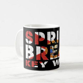 Spring Break Key West Florida Coffee Mug