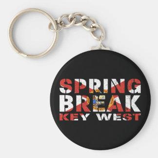 Spring Break Key West Florida Keychain