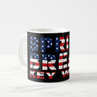 Spring Break Key West USA Coffee Mug