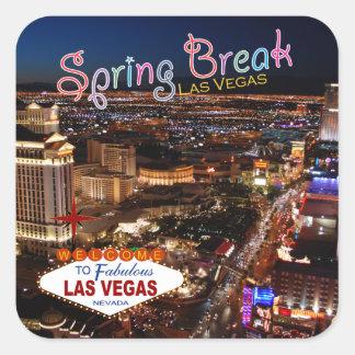 Spring Break Las Vegas Stickers