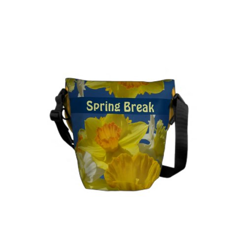 Spring Break Messenger Bags Personalized gifts