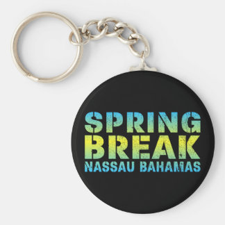 Spring Break Nassau Bahamas Keychain