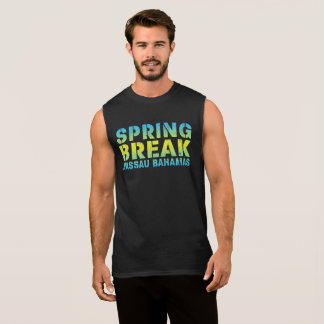 Spring Break Nassau Bahamas Sleeveless Shirt