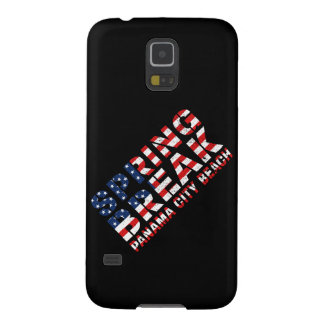Spring Break Panama City Beach US Flag Galaxy S5 Cases