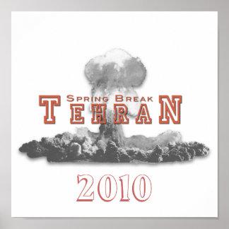 Spring Break Tehran, Nuclear Bomb, Nuke Poster