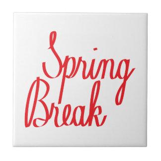 Spring Break Tile