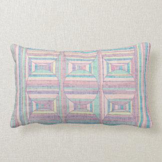 Spring Breeze Mix & Match Strata Criss Cross Lumbar Pillow