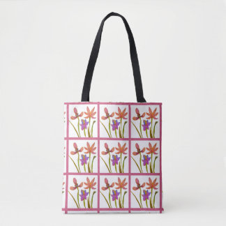 Spring Bulbs Floral Tote Bag