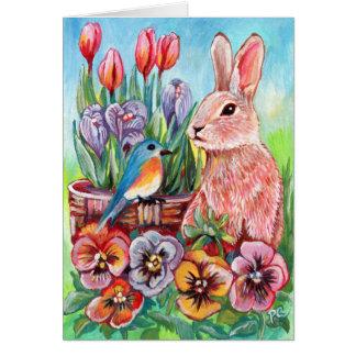 Spring Bunny Card