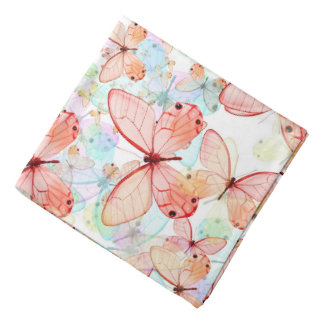 Spring Butterflies Bandana