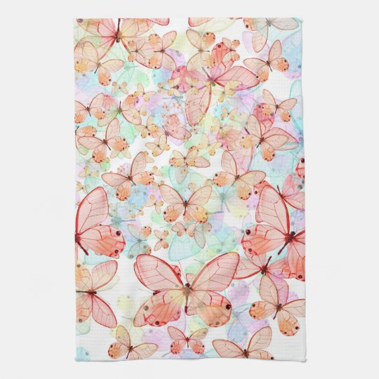 Spring Butterflies Kitchen Towel