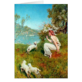 Spring By John Collier Card