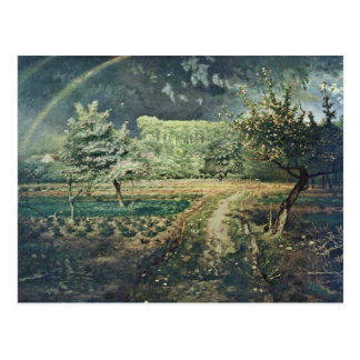 Spring,  By Millet  (Best Quality) Postcard