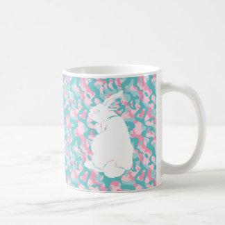 Spring  Camouflage Easter Bunny Coffee Mug