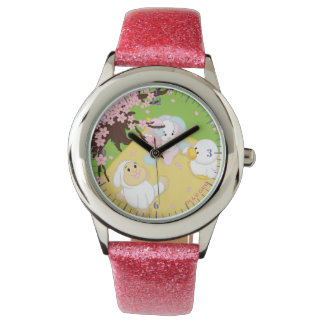 Spring Celebration Picnic Wrist Watches