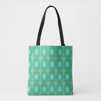 spring chalk tote bag