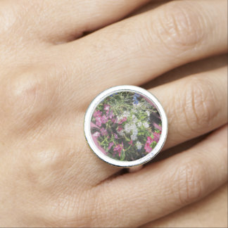 Spring Cheer Silver Ring