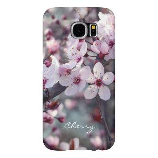 Spring Cherry Blossom Sakura Nature Floral Stylish Samsung Galaxy S6 Cases