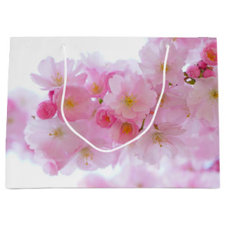 Spring - Cherry Blossoms Large Gift Bag