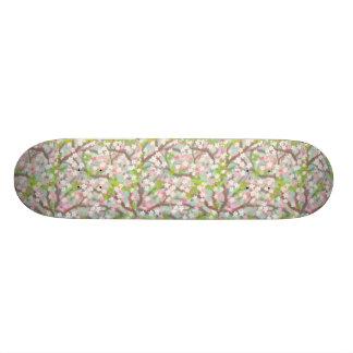 Spring Cherry Blossoms Skateboard