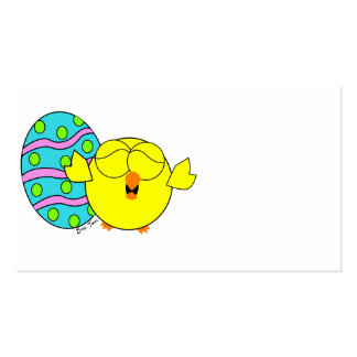 Spring Chick Business Card
