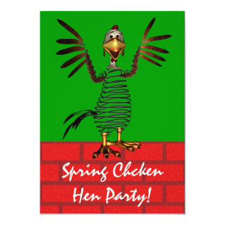 Spring Chicken invite