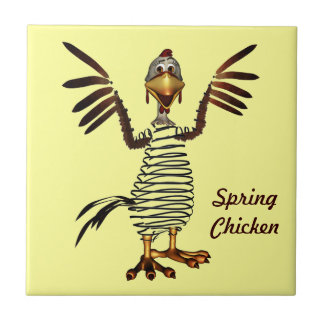 Spring Chicken Tile