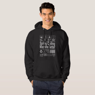 Spring Coiling Machine Setter Hoodie