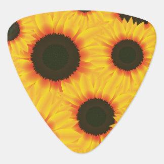 Spring colorful pattern sunfl pick